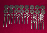 Hardtop Body Mount Bolt Kit